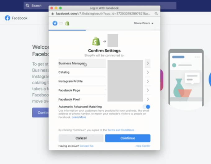 Facebook-Conversion-API-Shopify-opsaetning-screenshot